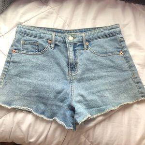 Wild Fable High Rise Denim Shorts Women's 4